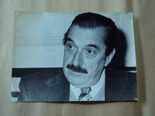 Fotografia Alfonsin Original Para Periodico Consultar Stock