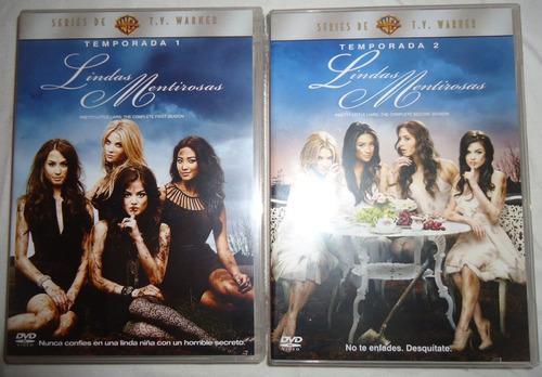 Lindas Mentirosas Paquete Temporadas 1 Uno Y 2 Dos Dvd