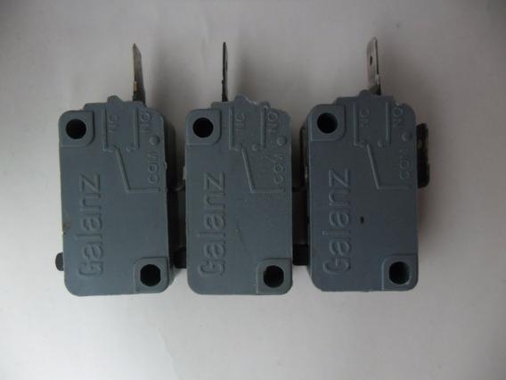 20 Micro Chaves Fim De Curso Microondas 2 Contatos No