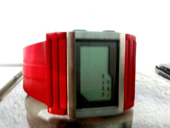 Relógio Digital Mormaii Vermelho