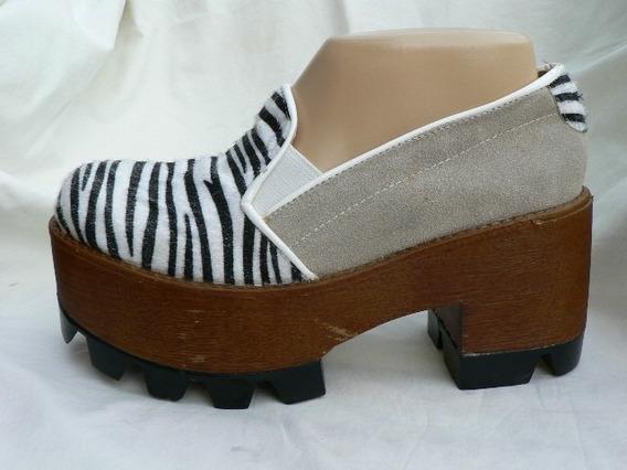 Zapato Birkenstock Pancha Zapatilla Con Plataforma