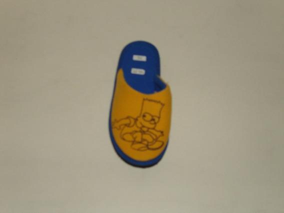 Pantuflas De Niño Bart Simpson