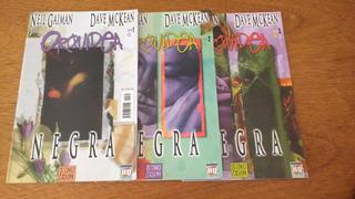 Gibi,hqs,orquídea Negra Mini-série Em 3 Eds.-ed.opera Graphi