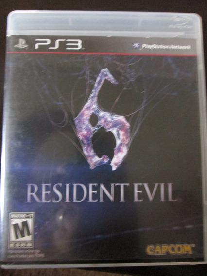 Jogo Ps3 Resident Evil 6