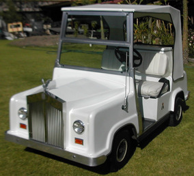Carrito De Golf /carro Eléctrico Tipo Rolls Royce Garantizad