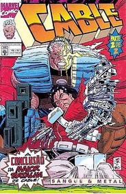 Hq Gibi Cable Sangue E Metal Parte 2 De 2 Marvel Comics 1996