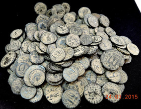 Moedas Antigas Império Romano Escavadas Síria - Unidade