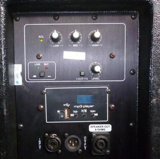 Caixa Som Ativa Machine Jc215t Usb E Passiva Nextron (o Par)