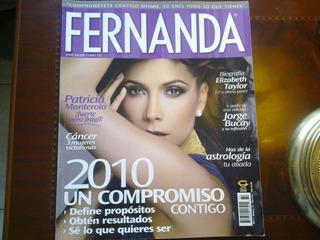 Paty Manterola Elizabeth Liz Taylor En Revista Fernanda 2010