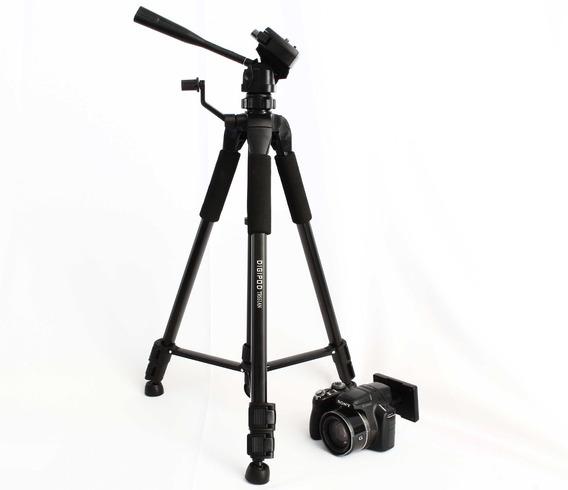 Tripe Camera Digital Filmadora Dslr Aluminio 1.6m Tr462 Nfe