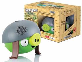 Caixa De Som Angry Birds - Green Pig
