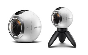 Câmera Samsung Gear 360 15 Mp Com Wi-fi Bluetooth