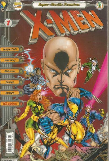 X-men Super-herois Premium 01 - Abril 1 Bonellihq Cx253 D18