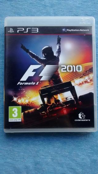 Formula 1 2010 F1 2010 Ps3 M. Fisica Frete R$10