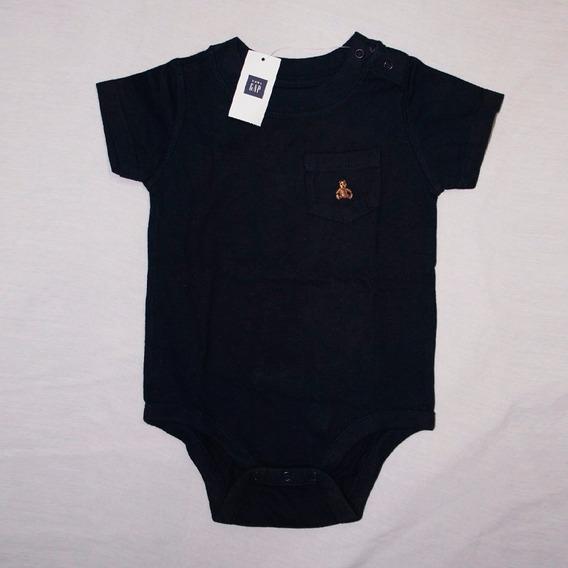 Body Manga Curta Menino Gap Baby