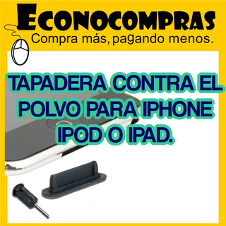 Tapa Protector De Polvo Dock Cover Para iPhone 4g iPad iPod