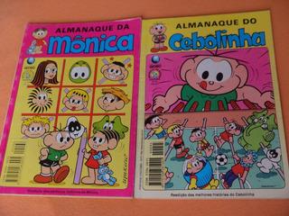 Hq - Almanaques Mônica E Cebolinha - Lote 2 Revistas 68 E 45