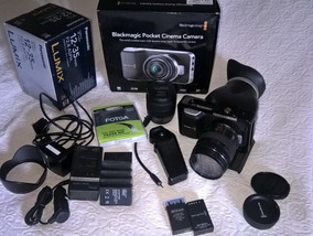Blackmagic Pocket Cinema Camera + Kit Profissional Sp Sp