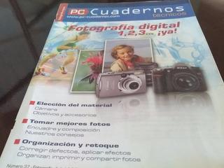 Libro Fotografía Digital 1,2,3 ...¡ya! Pc Cuadernos Técnicos