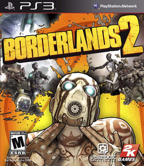 Jogo Borderlands 2 Playstation 3 Ps3 Mídia Física 2k Games