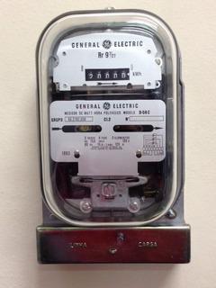 Relogio Medidor De Consumo De Energia Eletrica Luz Trifasico