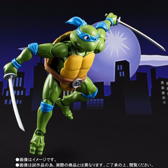 S.h. Figuarts Tartarugas Ninja Tmnt Leonardo Bandai Turtle
