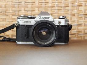 Câmera Canon Ae-1 Analógica Profissional Com Objetiva 28mm