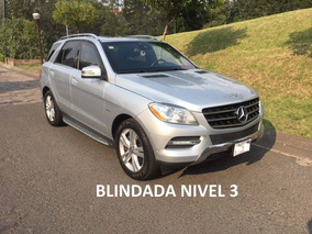 Mercedes-benz Ml350 2012 Blindada Nivel 3 - Como Nueva