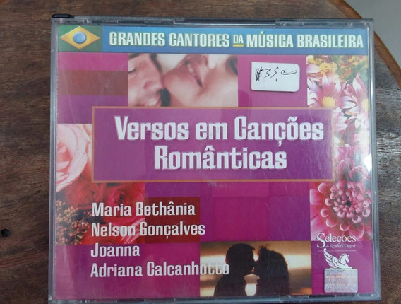 Cd Box Versoes Em Cancoes Romanticas