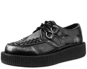 Creepers Demonia Killstar Piel Tuk Goticos V9175 Zapatos tsrQdh