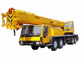 Grua Sobre Camión Iron Qy70