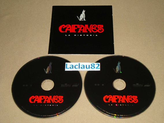 Caifanes La Historia 1997 Bmg Cd Doble Mexico