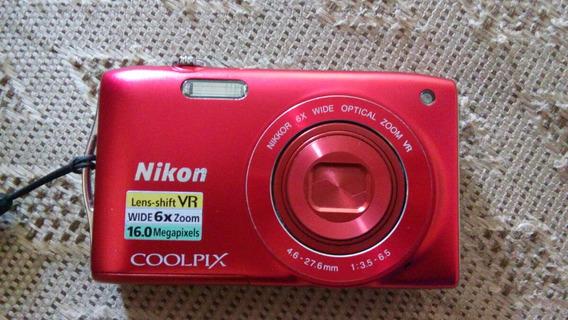 Câmera Digital Nikon Coolpix S3300