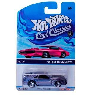 Hot Wheels Cool Classics 84 Ford Mustang Svo 18/30