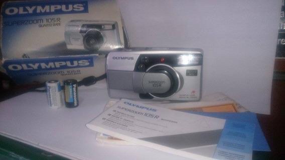 Camera Fotográfica Olympus Super Zoom 105 R- Usada