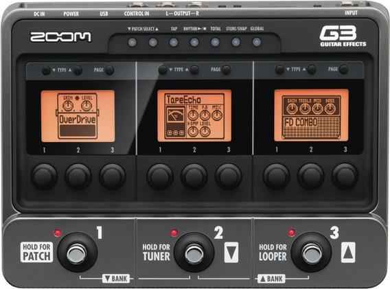 Pedaleira Zoom G3 Guitarra