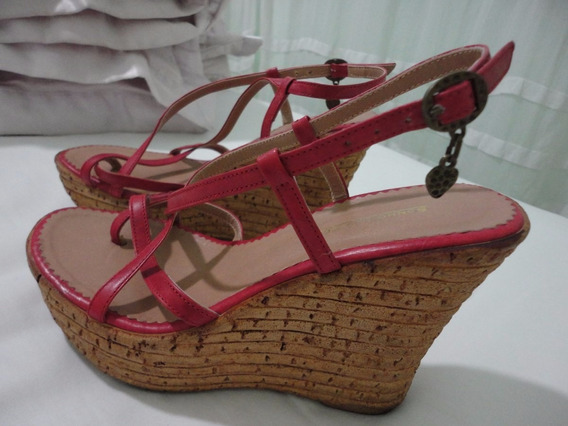 Sandália Plataforma Tiras- Sonho Dos Pés