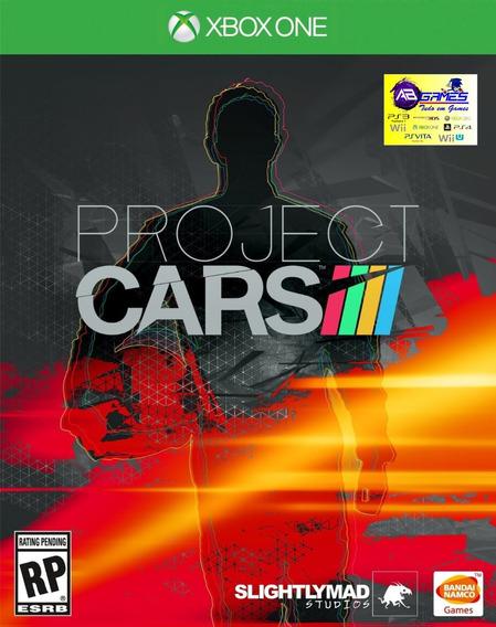 Project Cars Xbox One Original Novo Lacrado Ab Games