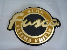 Emblema Resinado Fusca Série Ouro