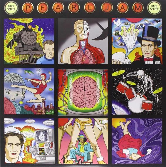 Pearl Jam Backspacer - Vinilo 180 Gramos Nuevo Importado