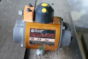 Atuador Pneumatico Rotativo Worcester 10 39 Sn - 90 Graus