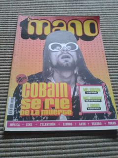 Revista La Mano - N°1 Kurt Cobain Charly García