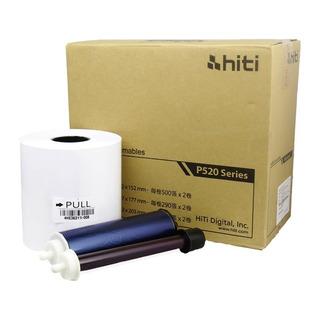 Insumo Para Impresora Hiti P520/525 15 X 20 Cm 250 Copias