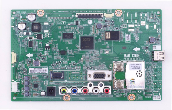 Placa Principal Tv Monitor Lg 22mt47d - Nova C/ Nf