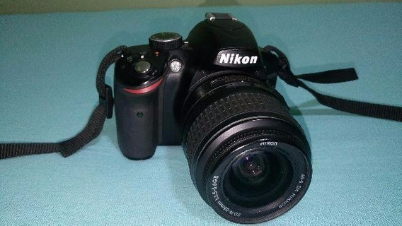 Nikon D3200 + Dx 18-55 Mm + Case (case Logic)