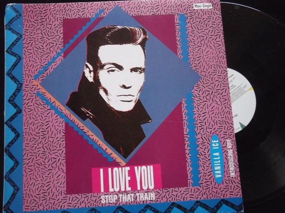 Vanilla Ice - I Love You (long), Stop That Train (long)