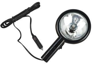 Cilibrim / Refletor / Lanterna Jacaré 12v Longo Alcance Plug