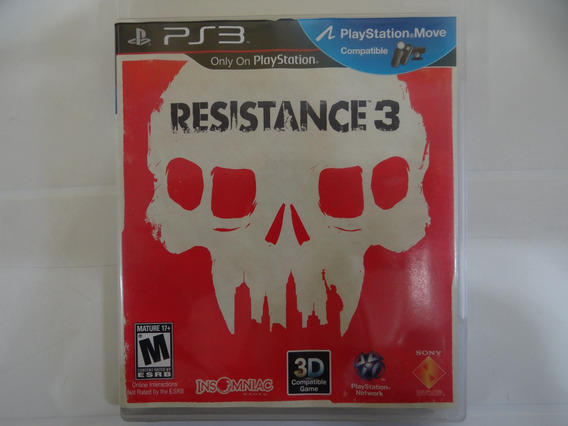 Resistence 3 - Ps3 - Completo!