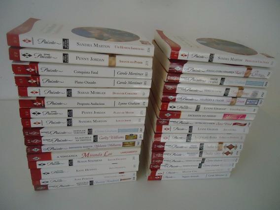 Romances Harlequin Paixão - Muitos Livros - Preço Por Livro