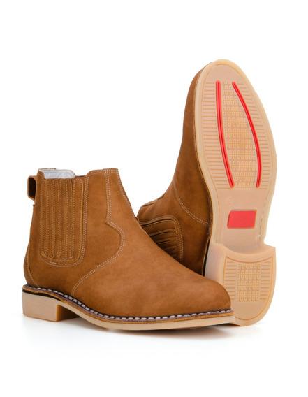 Botina Masculina Country Vira Francesa Texana Capelli Boots